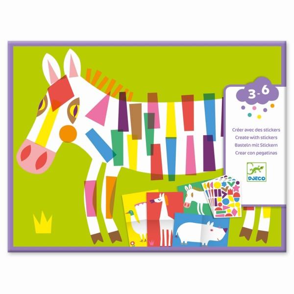 Stickerbilder / Große Tiere