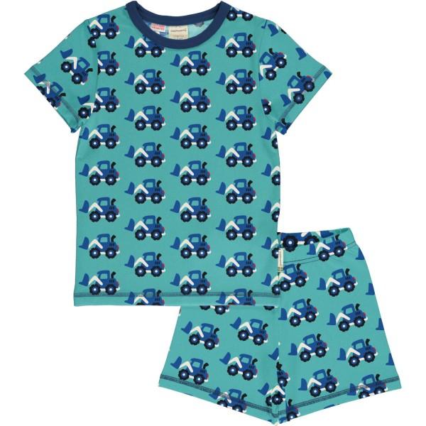 Kinderschlafanzug / Bagger