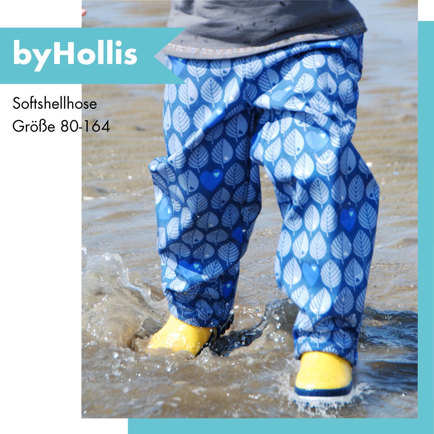 Qualität und Quantität zugesichert Website für Rabatt Sonderrabatt von byHollis - Schnittmuster-eBook - Softshellhose
