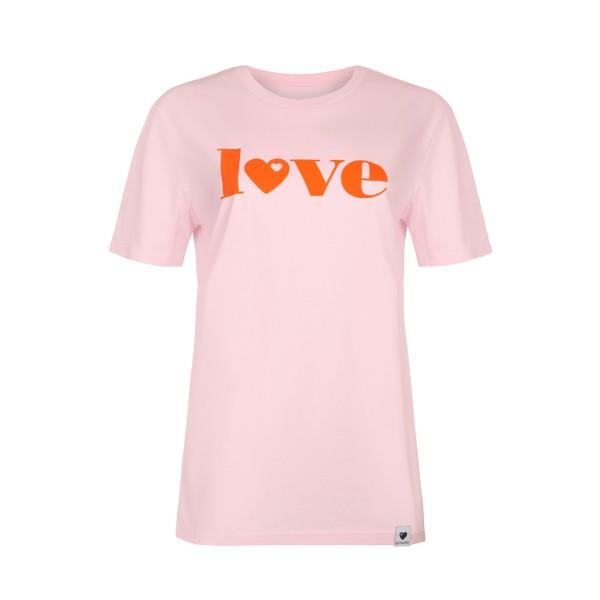 T-Shirt Love - Rosa