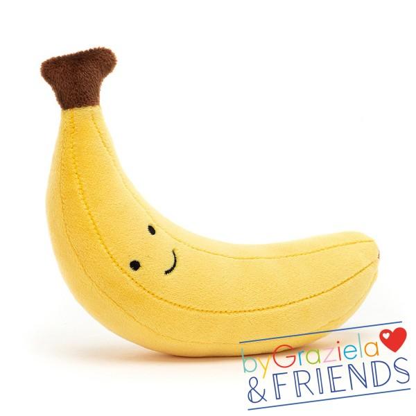 "Kuscheltier ""Fabulous Fruit Banana"" / 17cm"
