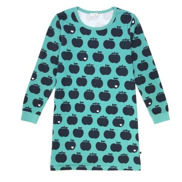 Mama Nachthemd Apfel / mint dunkelblau