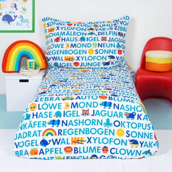 Kinderbettwäsche ABC