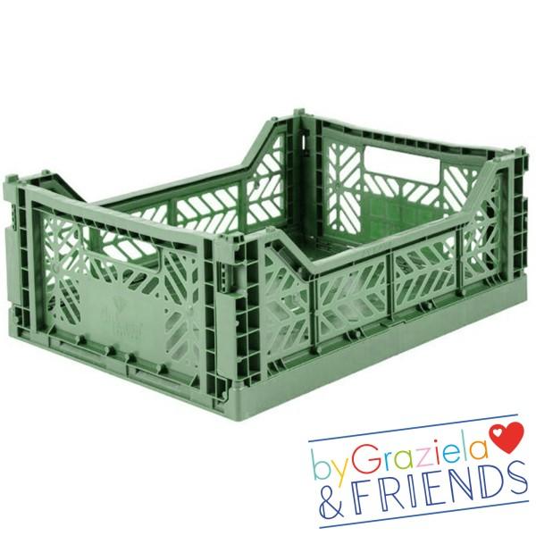 Aufbewahrungsbox / Mandelgrün