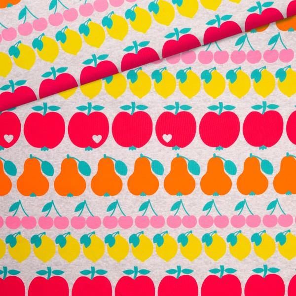 Sommersweat Fruity Mix - Grau