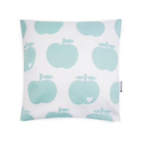 Wende-Kissenbezug Apfel Mint / Tupfen