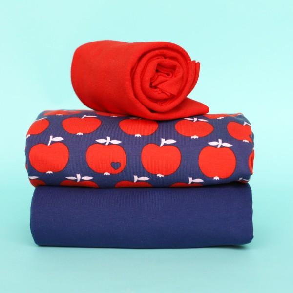 Stoffpaket Apfel - Rot