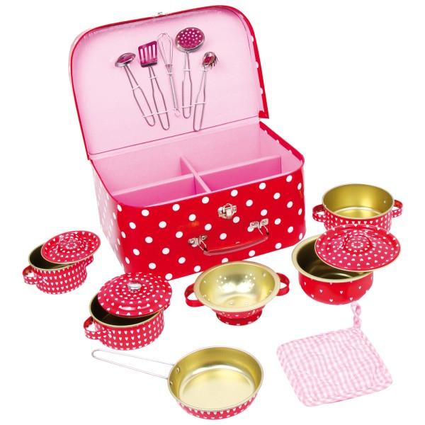 Picknickkoffer mit Kochgeschirr