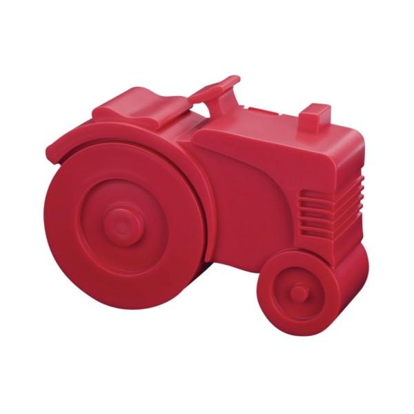 Brotdose Traktor / Rot