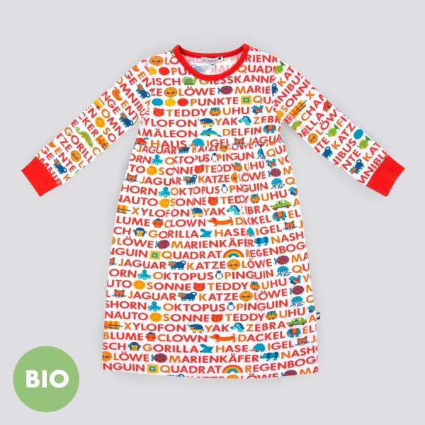 ABC Nachthemd / Rot
