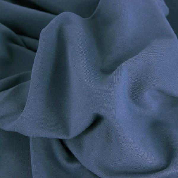 Sommersweat Uni / Jeansblau