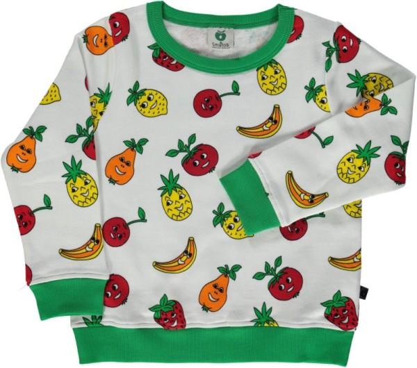 Sweatshirt / Früchte / Cream