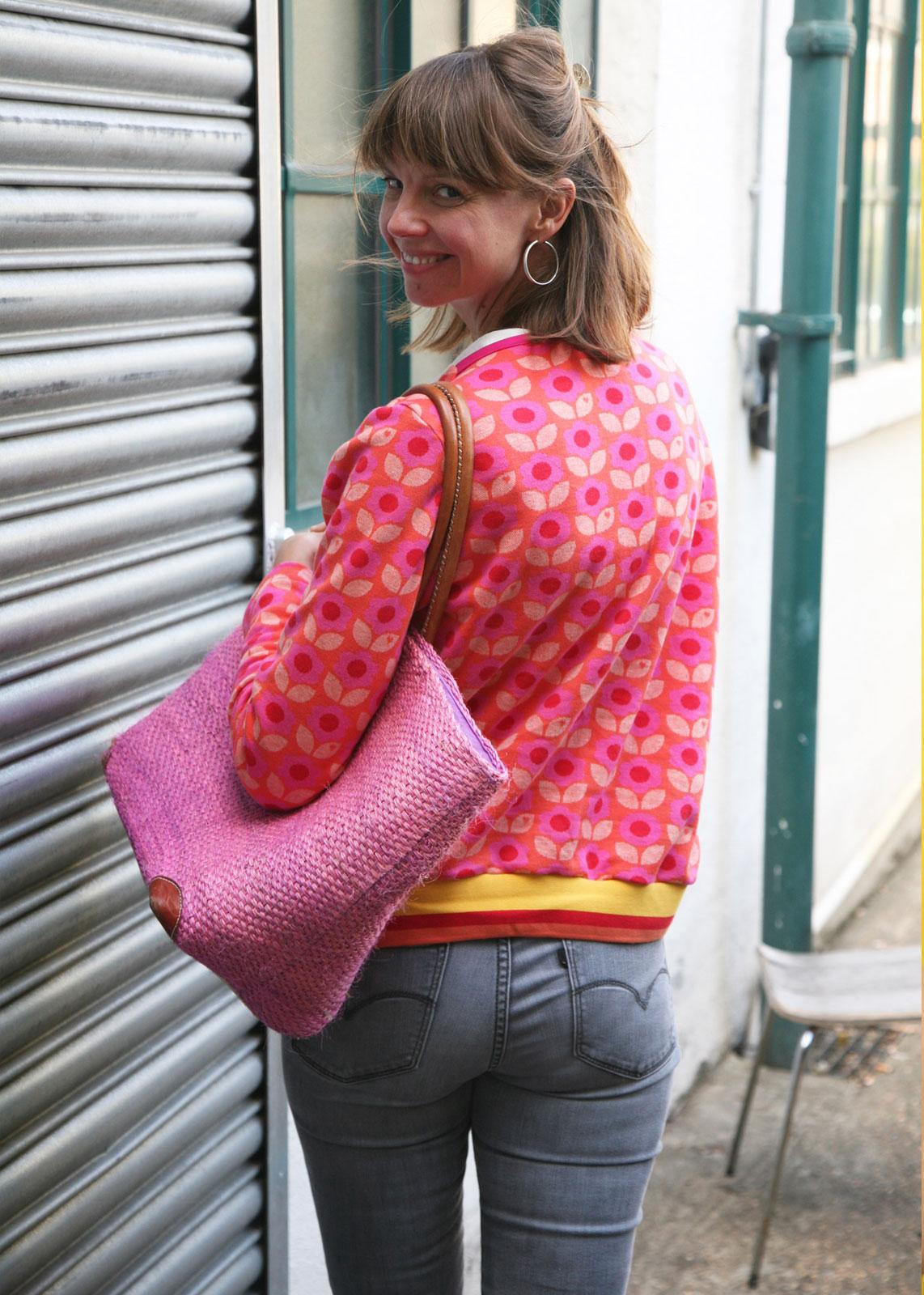 byGraziela_Sommer_Outfits_Jacquard_Jacke_Frau_Tomma
