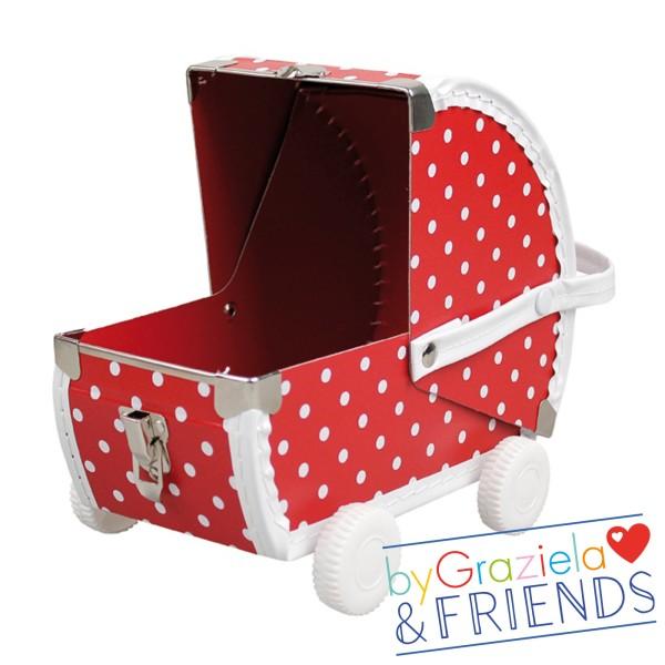 Spielkoffer / Kinderwagen