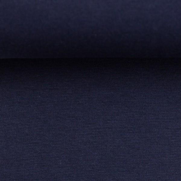 Bündchenstoff uni / Dunkeldunkelbau