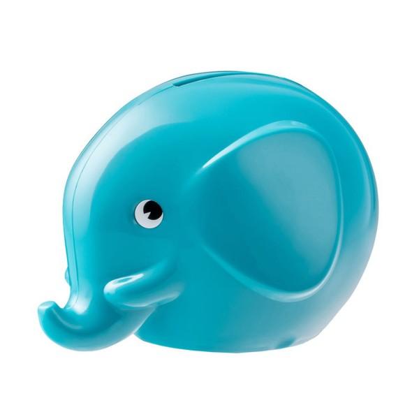 Spardose Elefant / Türkis