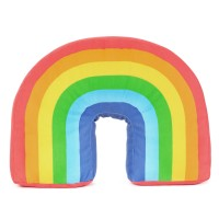 Regenbogen Dekokissen