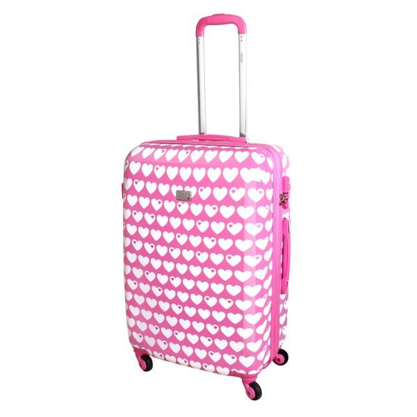 Koffer / XL / Herzen rosa