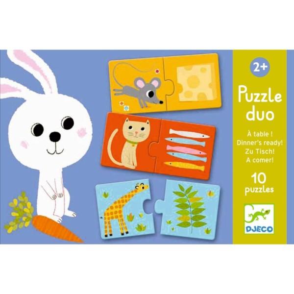Lernspiel Puzzle Duo / Was esse ich?