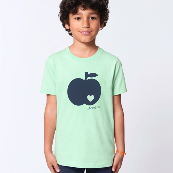 Kinder T-Shirt / Apfel