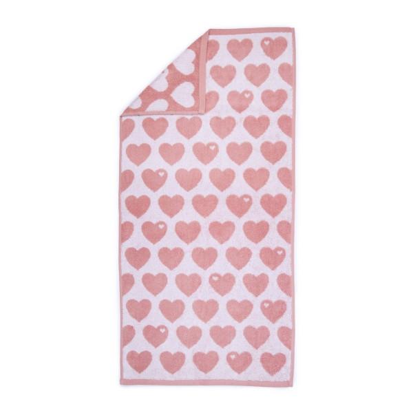 Handtuch 50 x 100 - Rosa