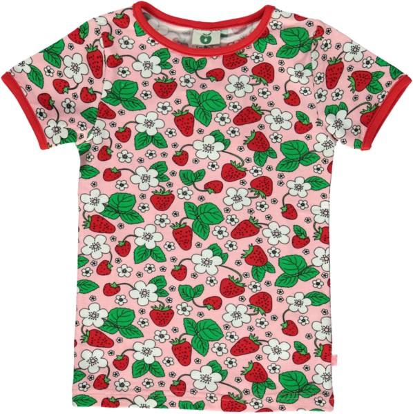 T-Shirt / Erdbeere / Koralle