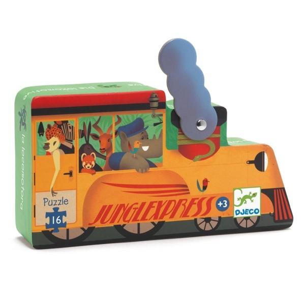 Puzzle Lokomotive