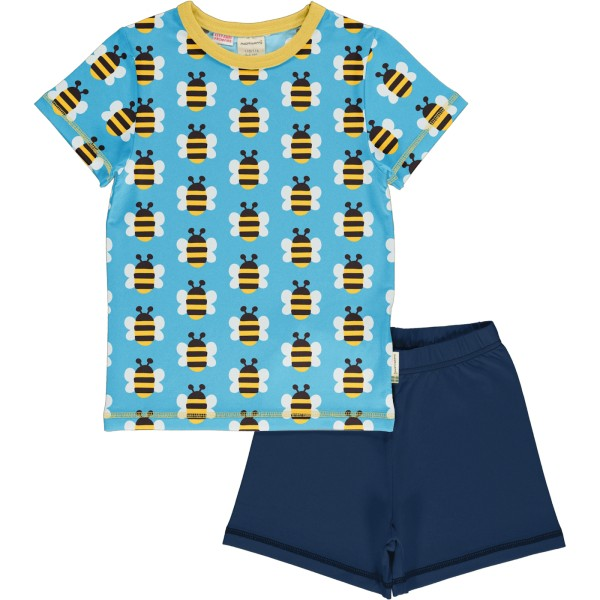 Kurzer Schlafanzug / Biene