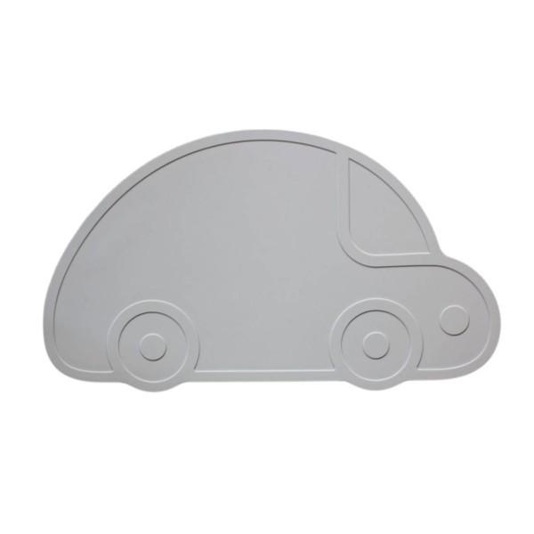 Tischset Auto / Grau