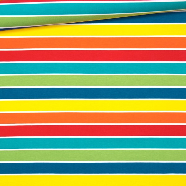 Jersey Regenbogen-Blockstreifen