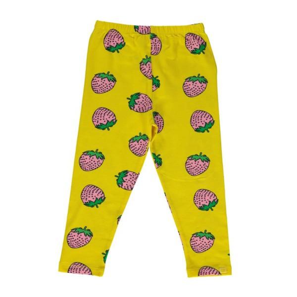 Leggings / Erdbeere / Gelb