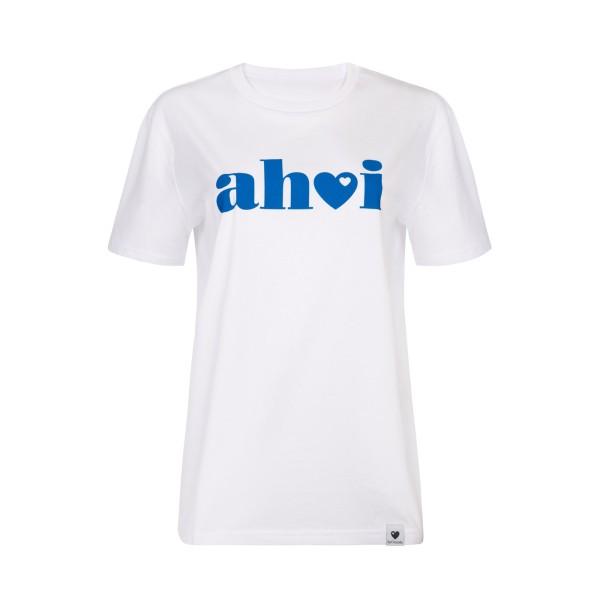 T-Shirt Ahoi - Weiß