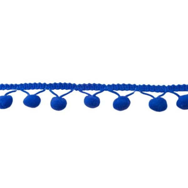 Bommelborte Groß / Royal Blau