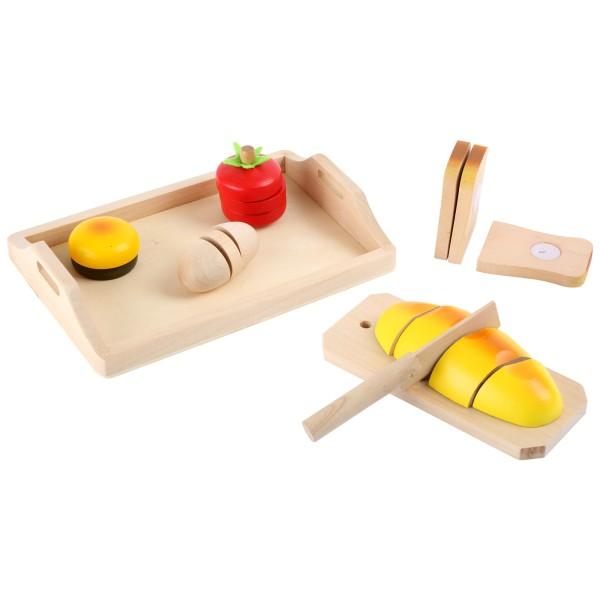 Holz Schneide-Set Brot