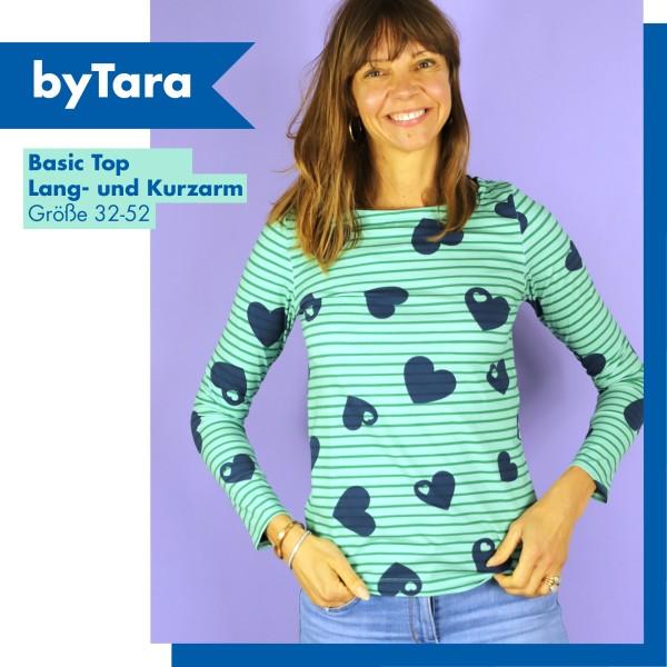 byTara - Schnittmuster-eBook - Basic T-Shirt