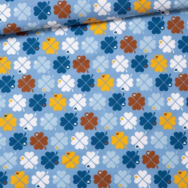 Jersey Kleeblatt / blau braun