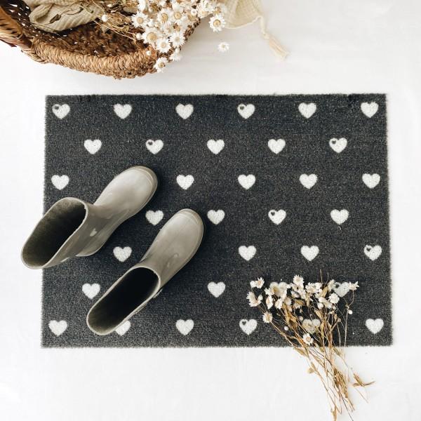 Fußmatte / Kleine Herzen