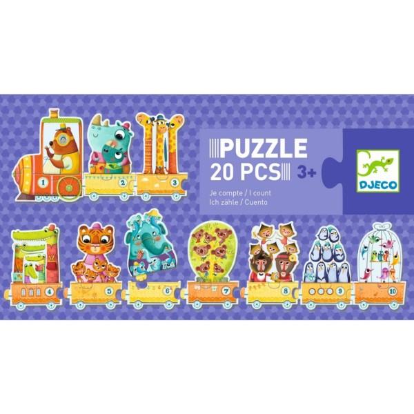 Lernspiel Puzzle Duo / Ich zähle