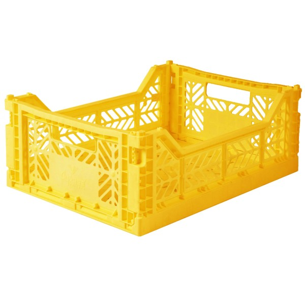 Aufbewahrungsbox / Gelb