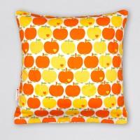 Kissenbezug Apfel orange 2