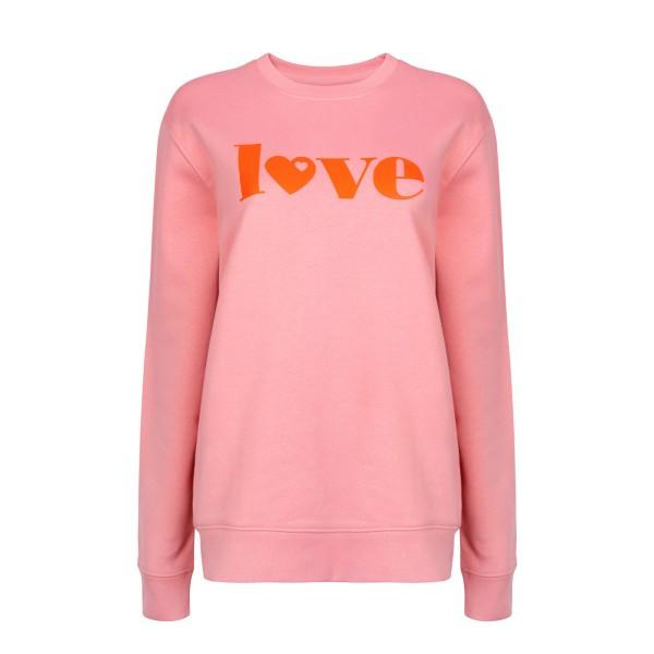 Sweatshirt Love - Altrosa