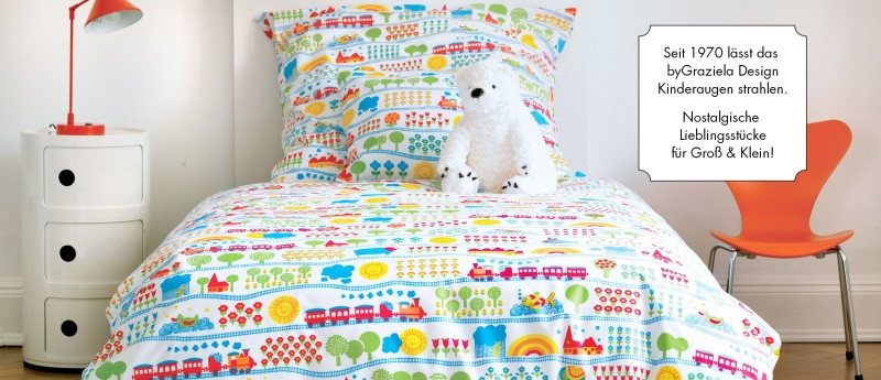 Kuschelige Bettwäsche im byGraziela Kult-Design