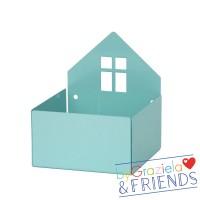 Kleine Aufbewahrungsbox / Blau