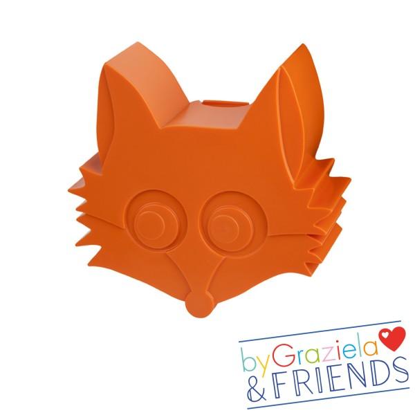 Brotdose Fuchs / Orange