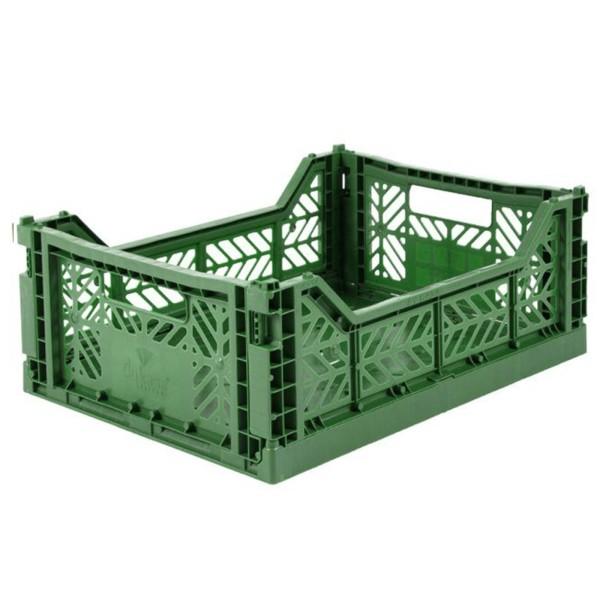 Aufbewahrungsbox / Dunkelgrün