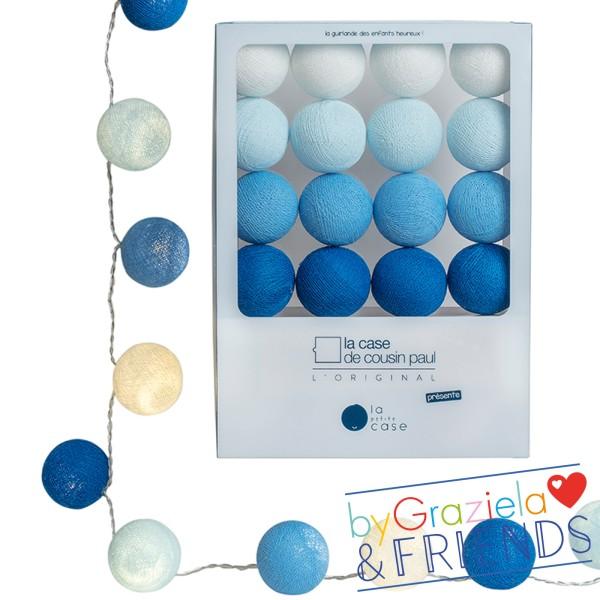 Lichterkette / Blau