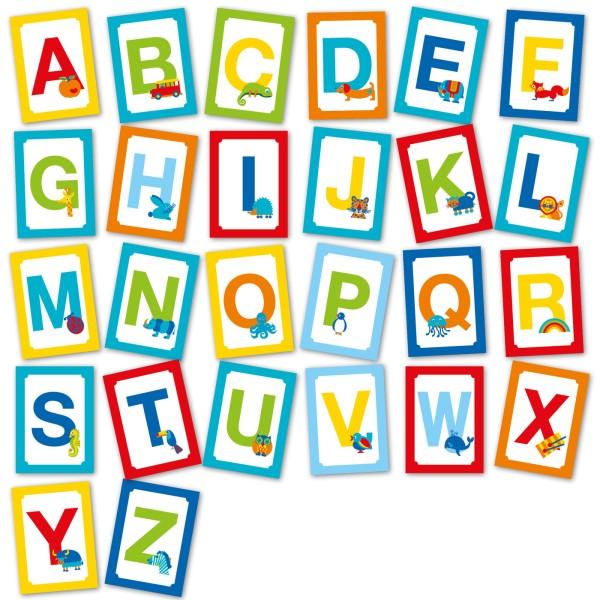 ABC Postkarten Set mit 26 Buchstaben