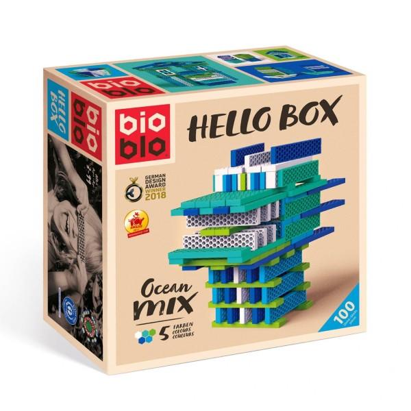 """Bausteine """"Hello Box"""" Ocean / 100 Steine"""