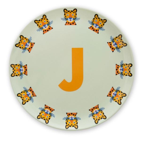 ABC Melaminteller - J
