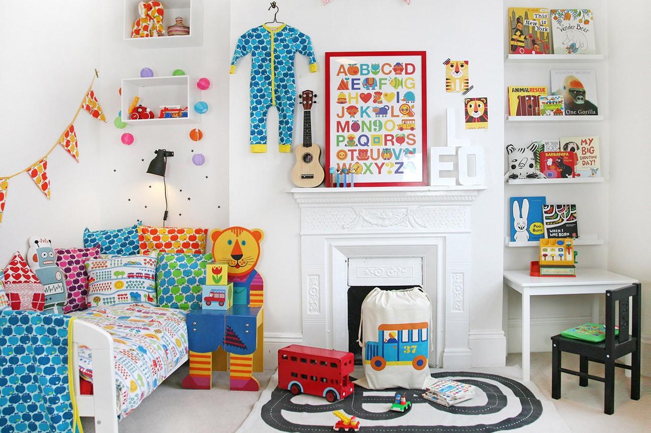 Buntes Kinderzimmer einrichten!